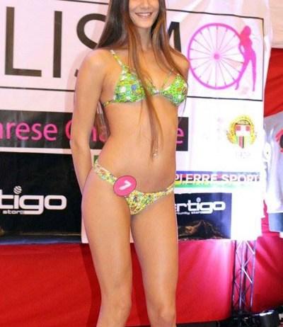 Carola Raimondi, una delle bresciane candidate al titolo di Miss Ciclismo - foto da ufficio stampa