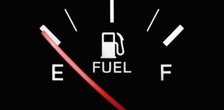 Benzina finita