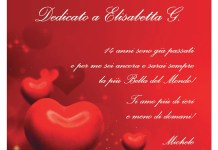 La dichiarazione d'amore comparsa su Bresciaoggi