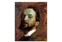 Autoritratto del pittore rovatese Gerolamo Calca