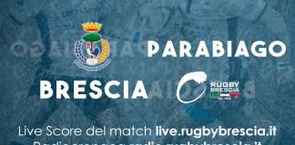 Il rugby Brescia si prepara per il match contro Parabiago