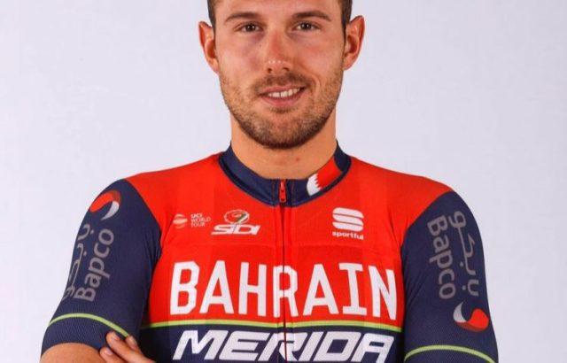 Il ciclista Sonny Colbrelli