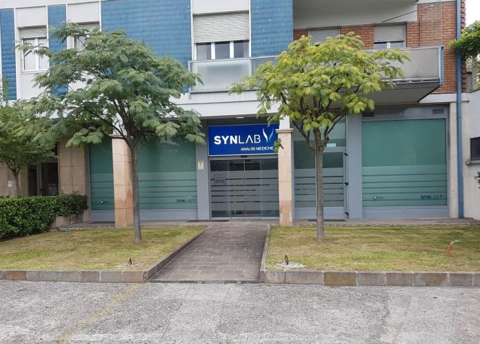 Il punto Synlab in via Marconi a Brescia - foto da ufficio stampa