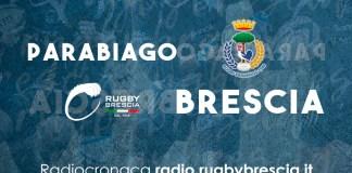 Rugby Brescia contro Parabiago