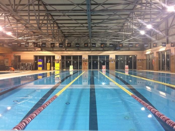 La piscina interna del nuovo Sporting Club di Carpenedolo