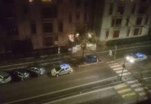 Un'auto schiantata in via Salvo d'Acquisto, foto BsNews.it