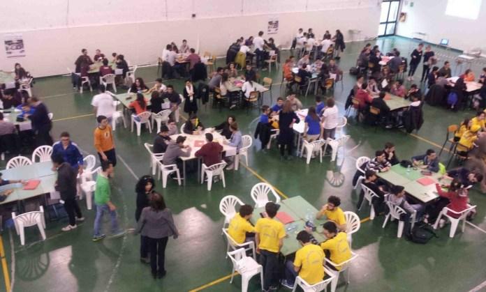 Una gara tra studenti
