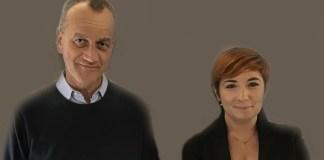 Gianantonio Girelli e Miriam Cominelli