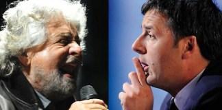 Renzi vs Grillo