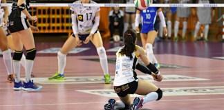 Francesca Parlangeli, libero Savallese Millenium - (Foto Molaschi)