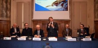 Presentazione a Palazzo Loggia del progetto Nuovo depuratore della Val Trompia di A2A