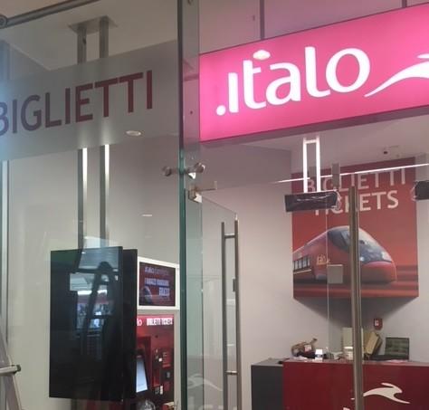 La nuova biglietteria di Italo a Brescia