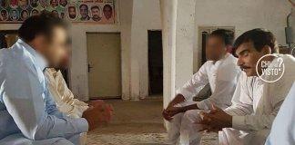 Un'immagine del padre di Sana Cheema, arrivata nella redazione della trasmissione Chi l'ha visto, foto da Twitter