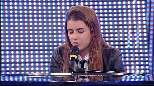 La giovane cantante Federica Carta, foto generica
