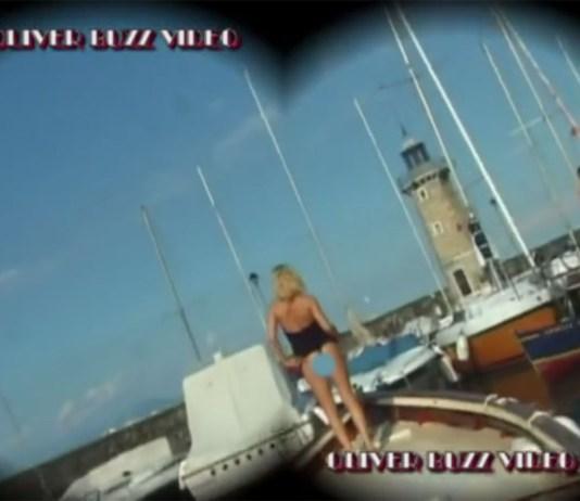 Una scena censurata del cortometraggio di Oliver Buzz