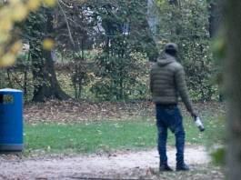 Spaccio e degrado nei parchi di Brescia