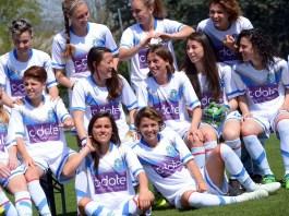 Brescia Calcio femminile sponsorizzata da C Date