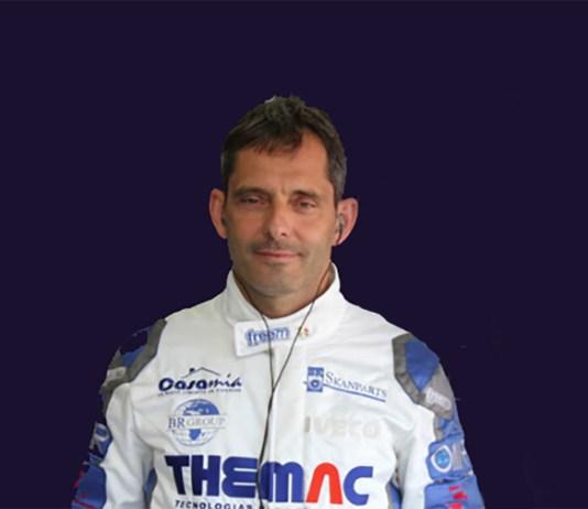 L'ex pilota di Formula 1 Alex Caffi, che vive tra Montecarlo e Rovato
