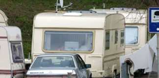Carovana di nomadi