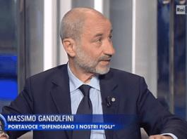 Massimo Gandolfini a Porta a Porta, Brescia