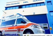 L'ambulanza dedicata a Simoncelli - foto da Facebook