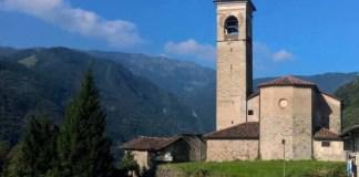 La chiesa di Sant'Apollonio a Pezzaze