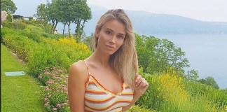 Diletta Leotta in vacanza sul lago di Garda al Lefay Resort, foto da Instagram