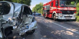 Incidente stradale ad Azzano Mella
