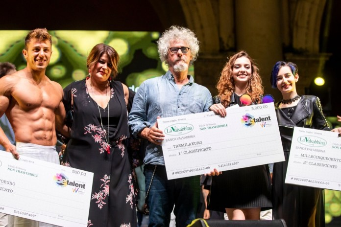 I vincitori di Be Talent 2018 a Brescia