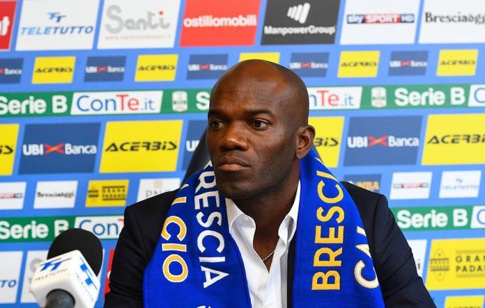 David Suazo, allenatore del Brescia, foto da sito ufficiale Brescia Calcio