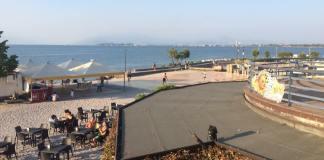 Il porto di Rivoltella, foto da pagina Facebook Rugby Desenzano 2006