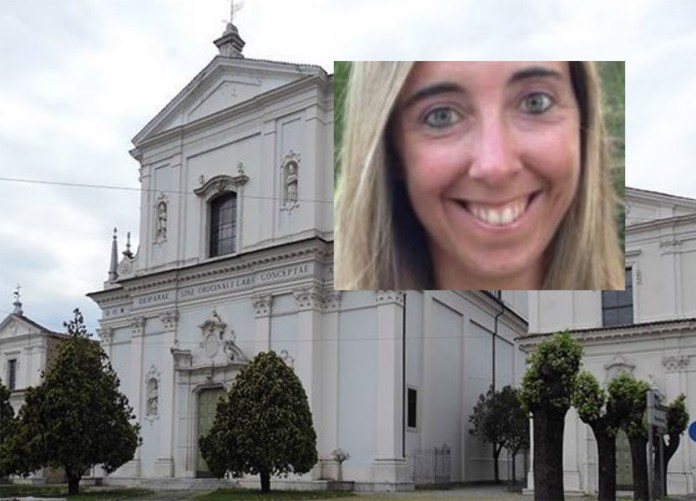 La chiesa in cui si sono svolti i funerali di Manuela Bailo, a Nave