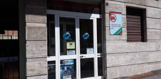 La sede della Uil in via Vantini, a Brescia