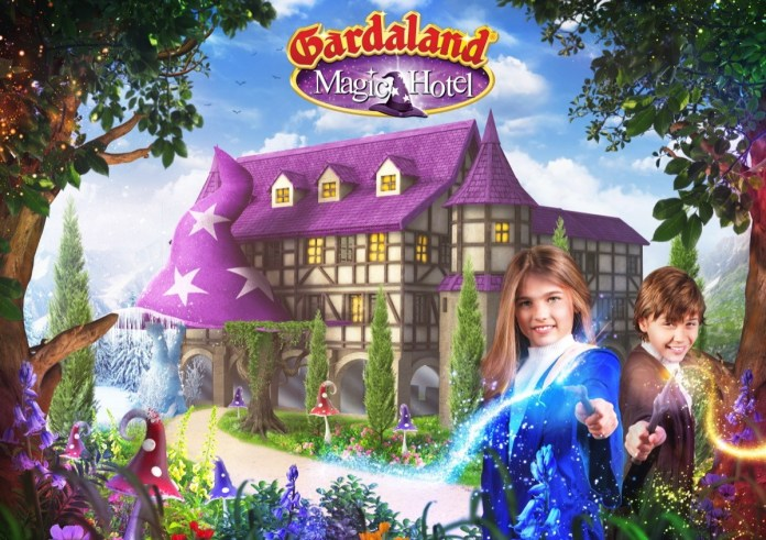 Il rendering del Gardaland Magic Hotel