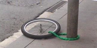 Furti di bici, foto d'archivio