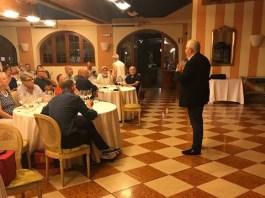 La serata organizzata da Onav a Brescia