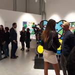 L'inaugurazione della mostra di Romero Britto al Franciacorta Outlet, foto Andrea Tortelli per BsNews.it