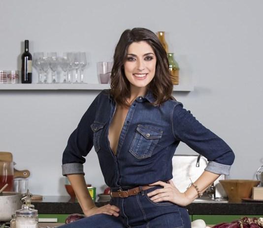 La conduttrice de La Prova del Cuoco Elisa Isoardi, foto da ufficio stampa