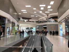 Il centro commerciale Nuovo Flaminia di Brescia