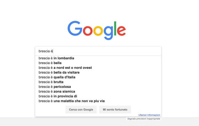 Brescia, cosa si cerca su Google...
