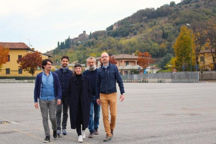 Il gruppo fondatore di RovatoW, il coordinatore Francesco Corbetta è il secondo da destraIl gruppo fondatore di RovatoW, il coordinatore Francesco Corbetta è il secondo da destra