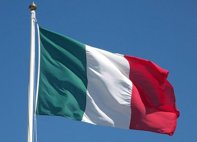 Bandiera italiana, foto generica