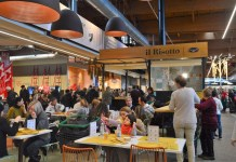 Il Risotto, il primo chiosco risotteria di Grandi Riso (Marcello Gabana Holding, Calcinato)