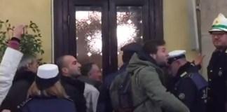 Momenti di tensione durante il consiglio comunale di ieri