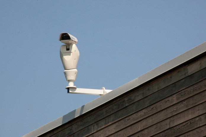 Telecamere di sorveglianza, foto generica