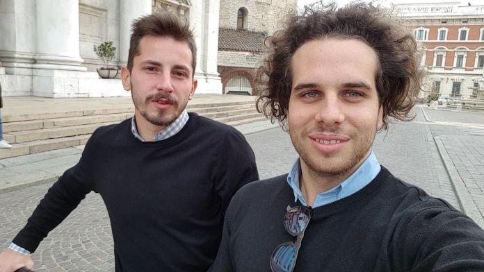 Da sinistra: Alberto Lazzaroni e Alessandro Merigo