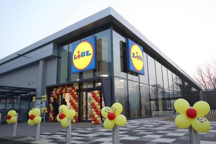 Supermercato Lidl di Sant'Eufemia (foto da ufficio stampa)