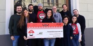 Movember Brescia, la racccolta fondi di Ant, foto da pagina Facebook ufficiale