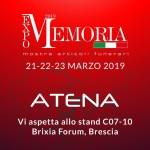 Atena Spa è presente a Memoria Expo 2019