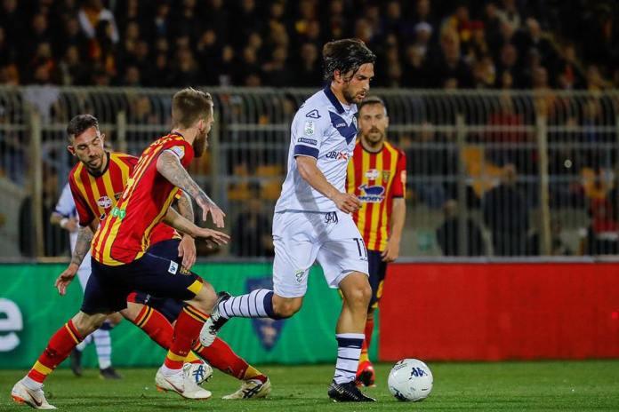 Lecce-Brescia - foto da pagina facebook Brescia Calcio